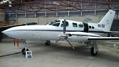 TCM -TSIO520VB Engine - TIMEX - removed running - 1518 TT- FACTORY -Cessna 402C