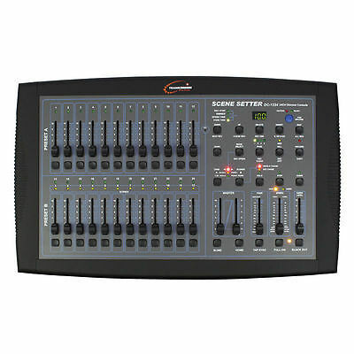 Transcension Scene Setter DC 1224 DMX Controller Lighting Desk