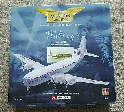 CORGI The Aviation Archive Military BOEING C-97G Delamere Air Guard 1st Issue