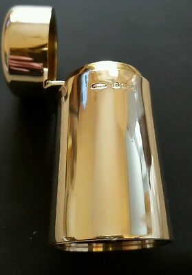 Silver Dressing Table Perfume Bottle 1919 by Joseph Gloster
