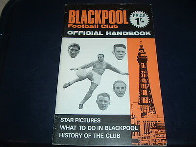 Blackpool Official handbook 1968 / 1969