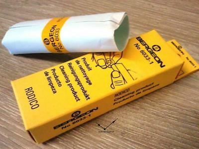 Bergeon 6033 Rodico cleaning clay - stick - removes oil - Reinigung - pate