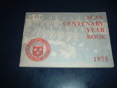 Hamilton Accies Centenary Year book 1975