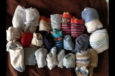 Baby boy sock bundle 0-3 months