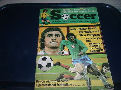 Soccer magazine Issue No. 4 Man City Spurs Chelsea etc