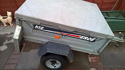 Erde 102 car camping trailer with cover 4x3
