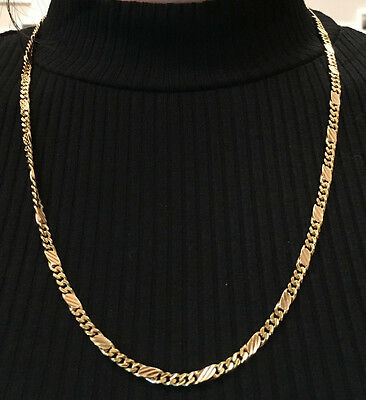 Gold Chain 18ct 28.2grams 22 inches long