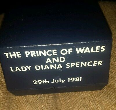 The Princess of Wales Crystal Paperweight!