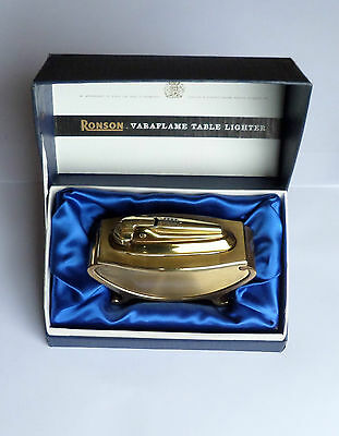 Vintage Ronson Varaflame Table Lighter Boxed
