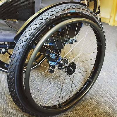 "Off-Road 24"" Wheelchair Wheelset"