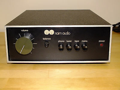 Naim Audio NAIT 1 AMPLIFIER SUBERB CONDITION!!! ALL ORIGINAL, WORLDWIDE SHIPPING