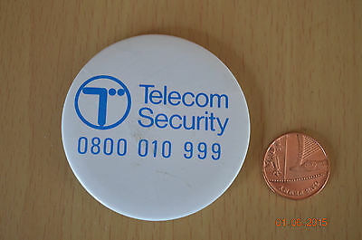 Vintage - Telecom Security - Badge