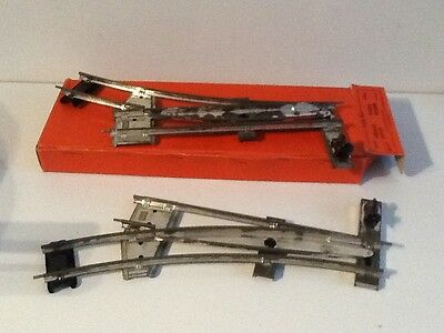 Hornby O Gauge Two Rail Points Boxed Excellent