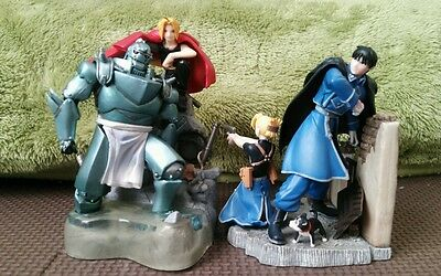 fullmetal alchemist 10cm figure 2 lot Japan anime Hagaren manga Japones No box