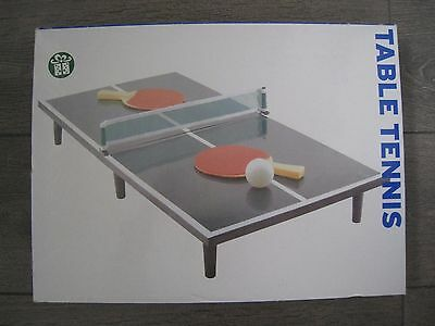 Childrens Table Tennis Table Top Mini Ping Pong Set