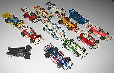 39 AFX Aurora Cars and Lorrys, Lap Counter and Spares