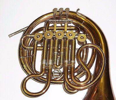 Rare Vintage GEBR ALEXANDER MAINZ Double french horn Made in Germany