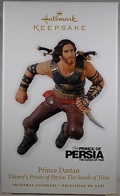 Prince Dastan Hallmark 2010 Keepsake Ornament Disney's Prince of Persia