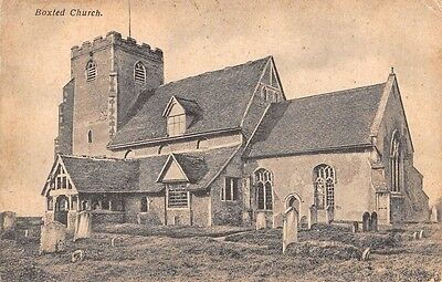 Essex -  BOXTED, Church, used 1911