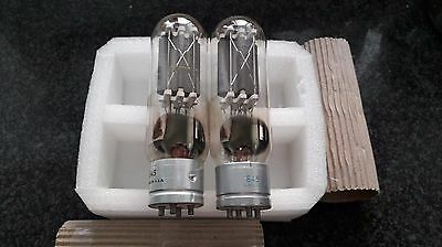 Westinghouse 845 tube pair Made in USA