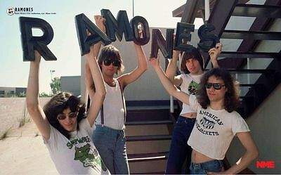 THE RAMONES Poster Rock Group Album Cover Photo - MULTIPLE SIZES #06