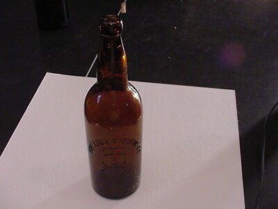 LIMA BREWING CO Embossed Pre Pro Beer bottle - Lima, OH