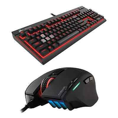 Corsair Gaming STRAFE Cherry MX Red & Corsair Sabre CH-9303011 Mouse RGB