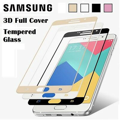 3D FULL COVER Tempered Glass Protector for Samsung Galaxy S7 EDGE S6 / EDGE PLUS