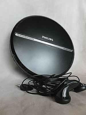 New Black Philips Portable MP3-CD Player EXP2546