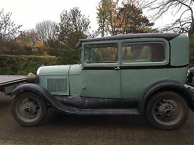 Ford Model A 1928 RHD  very solid 2 door sedan to restore from dry state V5C