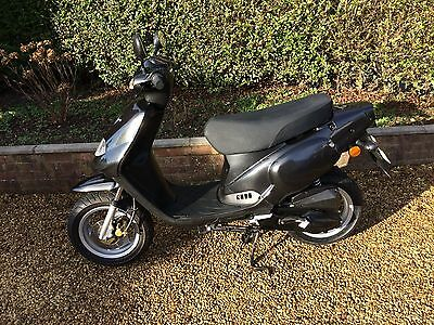 Tgb 202 Classic Scooter Moped Black Low Mileage Great Condition Commuter 16 Year
