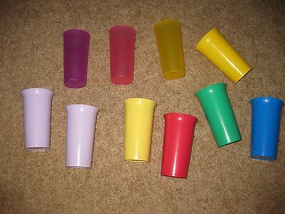 LOT 10 Tupperware LARGE Bell Tumblers + Others!