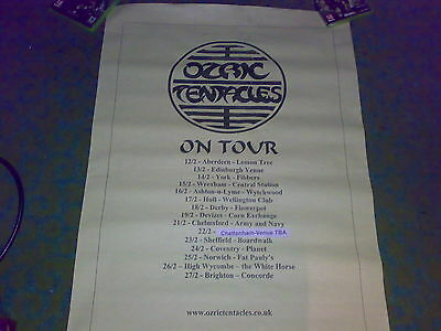 Ozric Tentacles Tour Poster