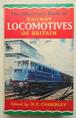 The Observer's Book of Railway Locomotives of Britain 1964 edition