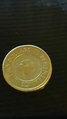 2012  Error Remembrance Poppy Circulated Australian  2 Dollar $2 Coin