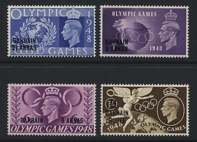 Bahrain: 1948 Olympic Games set of 4 stamps SG63-66 LMM SS282