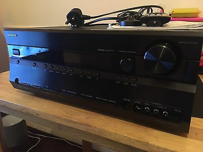ONKYO TX-SR605 7.1 Channel Receiver AV Amplifier