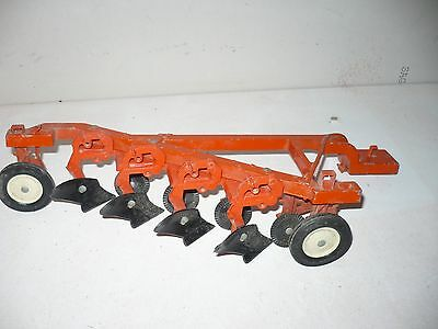 Vintage Case 4 Bottom Plow For A Tractor 1/16