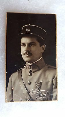 une photo carte dater 1919 Marseille ww1 militaria.