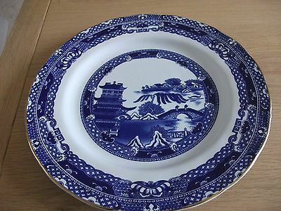 wade willow dinner plates x 2