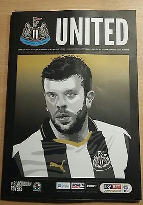 NEWCASTLE UNITED v BLACKBURN ROVERS,26/11/2016,ST JAMES' PARK,MAGPIES.HANLEY