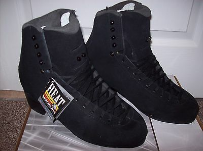 Jackson Elite Supreme DJ3852 Figure Skates Black Suede BOOT ONLY - Free Postage