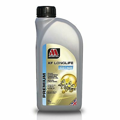 1 Litre Millers Oils XF Longlife C2 5W30 Fully Synthetic Engine Oil
