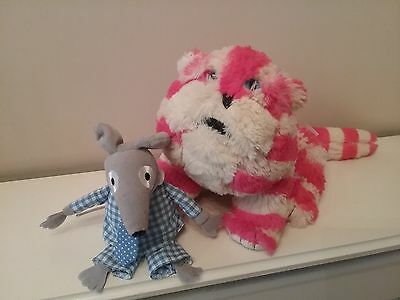 Bagpuss The Cat Wheatbag Soft Toy And Mouse
