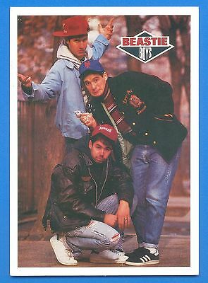Beastie Boys.postcard Published 1987