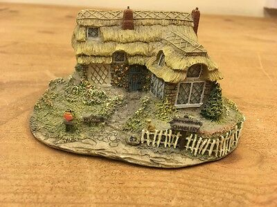 """Olde Porter Tea Room"" House Cottage Ornament Thomas Kinkade Figure Hawthorne"