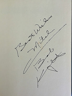 BOB KNIGHT signed autographed hardcover HIS OWN MAN Indiana University Coach IU