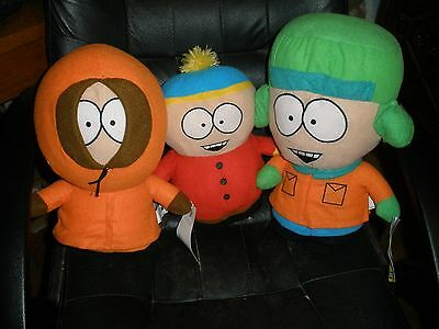 South Park 4 LG Stuffed Plush toys  Cartman KENNY KYLE