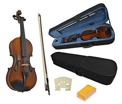Student Violin 1/2 Size And Case By Sotendo