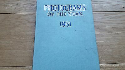 Photograms of the year 1951. Vintage photography... VGC
